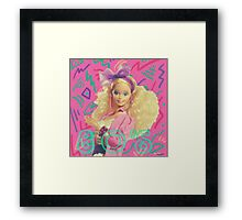 Barbie Rockers 80s  Framed Print