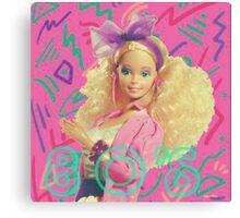 Barbie Rockers 80s  Canvas Print
