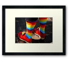 Dancing Rainbows - Broadstairs, Kent Framed Print