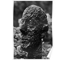 Monumental Head by Alberto Giacometti - Hirshhorn Museum, Washington, D.C. Poster
