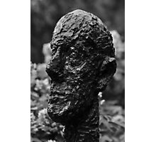 Monumental Head by Alberto Giacometti - Hirshhorn Museum, Washington, D.C. Photographic Print
