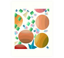 Easter wishes Art Print