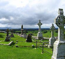 Rock of Cashel Cemetery by Mark Dowdell