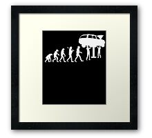 MECHANIC EVOLUTION Framed Print