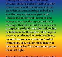 Gay Marriage SCOTUS Ruling by welikestuff