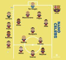 Barcelona FC .. the dream team Kids Tee
