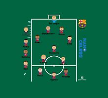 Barcelona FC .. the dream team Unisex T-Shirt