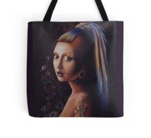Girl with a Gauge Tote Bag