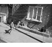 Children playing Photographic Print