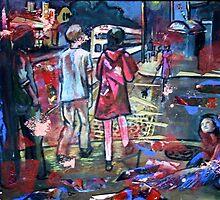 Thayer Street by Ginzer