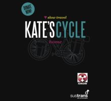 Kate's Cycle - Black by Dan Treasure