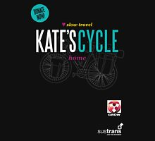 Kate's Cycle - Black Womens Fitted T-Shirt