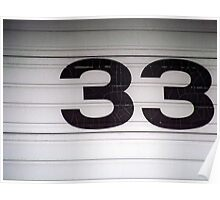 33 Poster