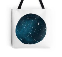 the stars, the moon, they have all been blown out Tote Bag