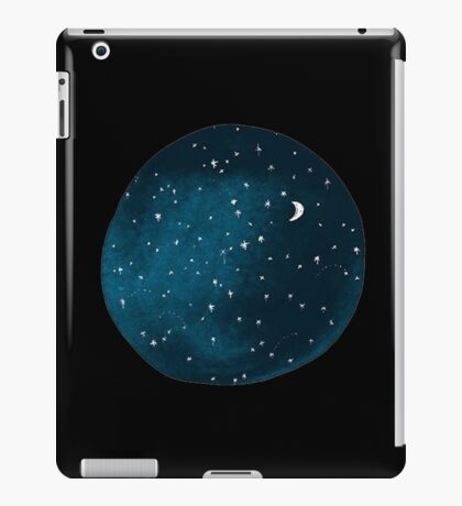 the stars, the moon, they have all been blown out iPad Case/Skin
