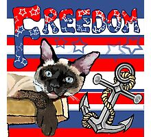 Freedom - The Lucky Cat Photographic Print