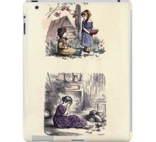 The Little Folks Painting book by George Weatherly and Kate Greenaway 0153 iPad Case/Skin