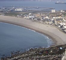 Chesil Beach From Tout Quarry by ChelseaLauren