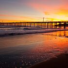 California sunset by bettywiley