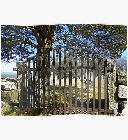 Cemetary Gate Poster