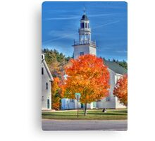Town Hall in Washington, New Hampshire  Canvas Print