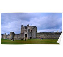 Curtain Wall - Trim Castle Poster