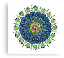 Prototype Mandala 2 Canvas Print