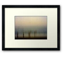 Edge of Reality #1 Framed Print