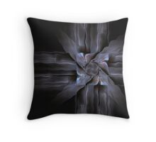 Metal Sculpture Throw Pillow