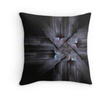 Metal Sculpture Throw Pillow