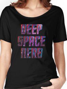 Deep Space Nerd/Deep Space Nine Women's Relaxed Fit T-Shirt