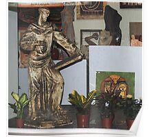 art in ceramic F.Kalemi 38 Poster