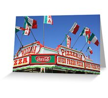 Get Your Pizza Here! Greeting Card