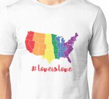 #LOVE IS LOVE Unisex T-Shirt