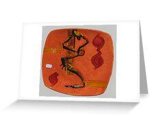 sculptures in ceramic F.K 29 Greeting Card