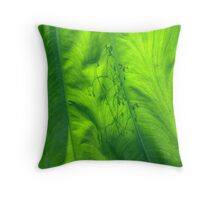 Leaf Shadow Throw Pillow