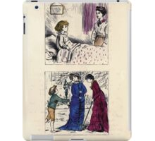The Little Folks Painting book by George Weatherly and Kate Greenaway 0097 iPad Case/Skin