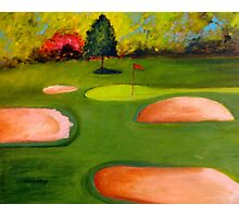Seven-Flourtown Country Club Photographic Print