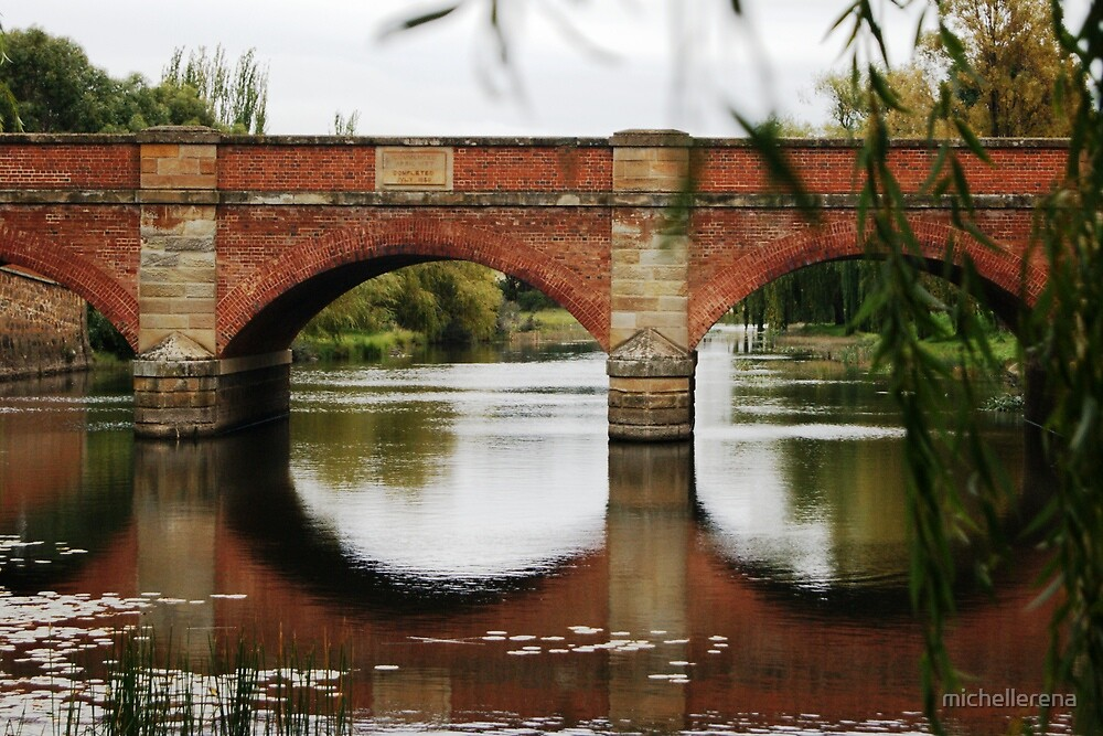 The Red Bridge by michellerena