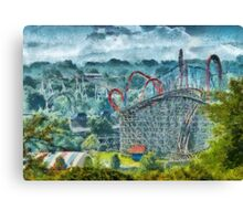 Americana - The thrill ride Canvas Print