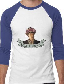 Because Science, Jawn Men's Baseball ¾ T-Shirt