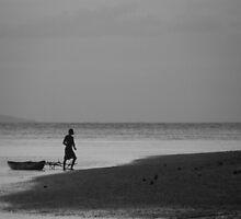 Man and his Canoe by JoshDrez