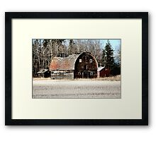 In My Dreaming Years Framed Print