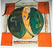 art in ceramic F.Kalemi 5 Photographic Print