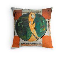 art in ceramic F.Kalemi 5 Throw Pillow