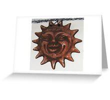 art in ceramic F.Kalemi 4 Greeting Card