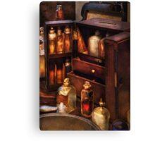 Doctor - The medicine cabinet Canvas Print