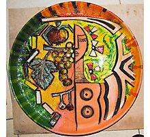 art in ceramic F.Kalemi 2 Photographic Print