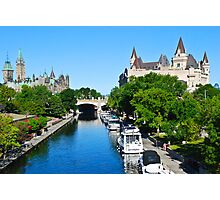 Ottawa Postcard Photographic Print