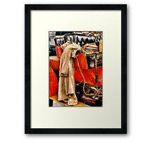 Car - Ready for a day out Framed Print